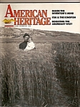 Click here to enlarge image and see more about item M6713: Ameri can Heritage magazine - Oct., Nov. 1985