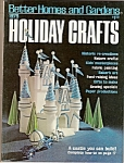 Click here to enlarge image and see more about item M6732: Better Homes & Gardens Holioday crafts -  1975