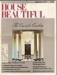 House Beautiful - September 1978