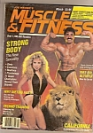 Click here to enlarge image and see more about item M6751: Muscle & Fitness magazine -  Maqrch  1984