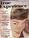 Click here to enlarge image and see more about item M6758: True experience -=  January 1960