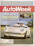 Auto Week magazine - Nov. 23, 1987
