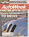 Auto week magazine - May 21, 1990