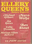 Click here to enlarge image and see more about item M6812: Ellery Queen's mystery magazine - Sept. 1968