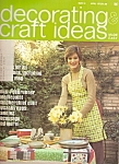 Decorating craft ideas   April  1975