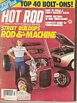 Hot  Rod magazine - December 1979