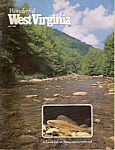 Click here to enlarge image and see more about item M7038: Wonderful West Virginia -  July 1985