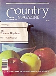 Country Magazine -(travel) - September 1981
