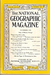 Click here to enlarge image and see more about item M7088: National Geographic magazine =-  December 1950