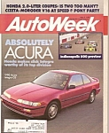 AutoWeek magazine - May 8, 1989