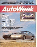 Click here to enlarge image and see more about item M7109: Auto Week magazine -  February 20, 1989