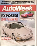 AutoWeek Magazine- April 4, 1988