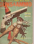 Guns & Ammo magazine - January 1960