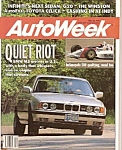 AutoWeek magazine- May 28, 1990