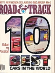 Click here to enlarge image and see more about item M7142: Road & Track magazine -December 1987