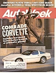 AutoWeek magazine -  April 30, 1990