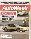 AutoWeek magazine - december 14, 1987
