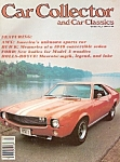 Click here to enlarge image and see more about item M7194: Car Collector and Car classics -  July 1979
