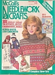 Click here to enlarge image and see more about item M7205: McCall's Needlewoprk & crafts -  December 1984