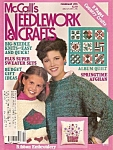 Click here to enlarge image and see more about item M7206: McCall's Needlework & Crafts  - February 1985
