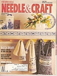 Click here to enlarge image and see more about item M7211: Needle & Craft magazine-  April 1989