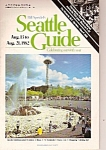 Click here to enlarge image and see more about item M7230: SEATTLE, WASHINGTON GUIDE - 1982