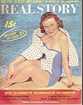 Click here to enlarge image and see more about item M7262: Real Story magazine - August 1959