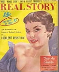 Click here to enlarge image and see more about item M7263: Real story magazine - September 1959