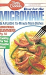 Betty Crocker Microwave dishes - January 1990