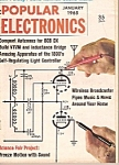 Click here to enlarge image and see more about item M7318: Popular Electronics -  July 1965