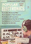 Click here to enlarge image and see more about item M7322: Popular electronics -  August 1965