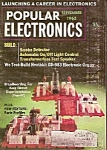 Click here to enlarge image and see more about item M7326: Popular Electronics -  October 1965