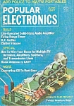Click here to enlarge image and see more about item M7328: Popular electronics -  June 1967