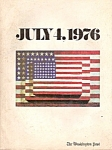 Click here to enlarge image and see more about item M7419: The Washington Post  magazine - July 4, 1976
