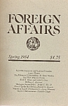 Click here to enlarge image and see more about item M7454: Foreign AFFAIRS book/magazine -  Spring 1984