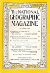 National Geographic magazine - October 1954