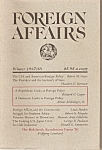 Click here to enlarge image and see more about item M7477: Foreign affairs book magazine -  Winter 1987-88
