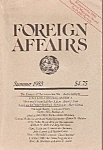 Click here to enlarge image and see more about item M7478: Foreign affairs book/magazine -  Summer 1983