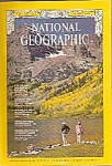 National Geographic magazine-  August 1969