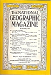 National Geographic magazine -October 1956