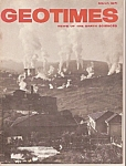 Geo Times magazine- March 1971