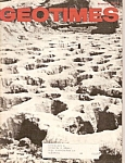 Geo times magazine -March 1973