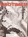 Geo Times magazine-April 1976