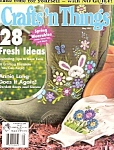 Click here to enlarge image and see more about item M7690: Crafts 'n Things magazine=-  May 2003