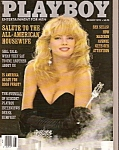 Playboy magazine -  April 1992