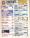 Click here to enlarge image and see more about item M7786: Nintendo Power magazine -  October 1991