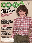 Co-Ed magazine -=  October 1981