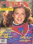 Teen magazine  - August 1981