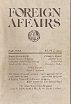 Foreign Affairs book/magazine -=   Fall 1987