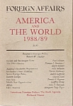 Foreign Affairs  book/magazine - 1988-=1989